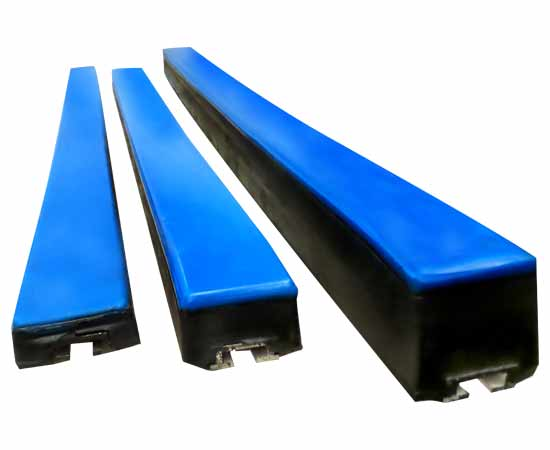 Impact Bars Impact Beds Waminco Industrial Rubber